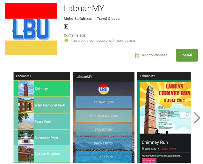 LabuanMY Google PlayStore